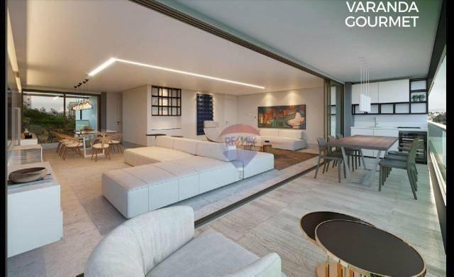 Apartamento com 3 dormitórios à venda, 122 m² por R$ 924.230,00 - Casa Forte - Recife/PE - Foto 2