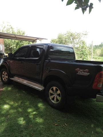Hilux 2010 diesel 3.0 automática abaixe o preço 85.000.00 - Foto 4