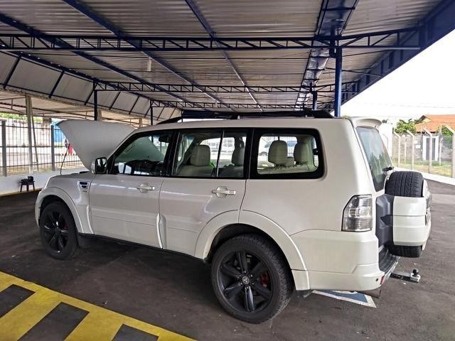 Mitsubishi pajero full 3.2 hpe 4x4 16v turbo intercooler diesel 4p automático - Foto 9