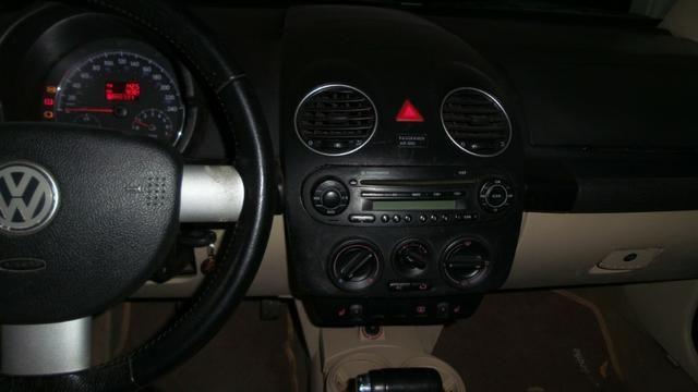VW- New Beetle 2.0 Cor Branco Com Teto Solar Ano 2006/2007 - Foto 10