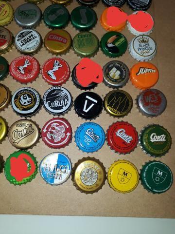 Lote tampinhas cervejas diversas para colecionador - Foto 6