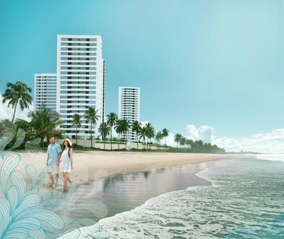 Jacarecica - Apartamento beira mar com 3 suítes