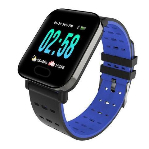 Relógio Aferi Batimentos Cardiacos, Pressão, Notif-A6