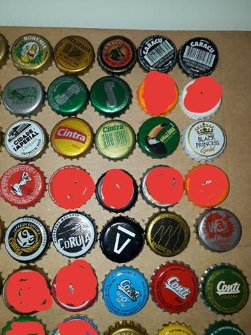 Lote tampinhas cervejas diversas para colecionador - Foto 5