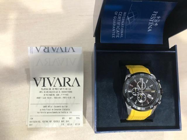 Vende-se Relógio marca Festina modelo F20330/3 - Novo na caixa