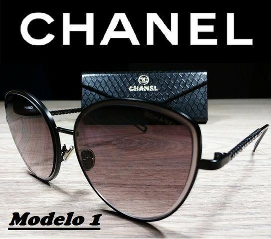 c9923cd9a Óculos Feminino Chanel 20036 com Proteção UV - Bijouterias, relógios ...