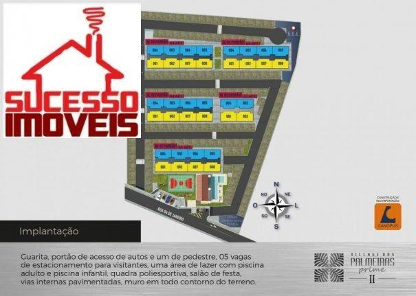 VILLAGE DAS PALMEIRAS PRIME II - Apartamento Alto Padrão em Lançamentos no bairr... - Foto 11