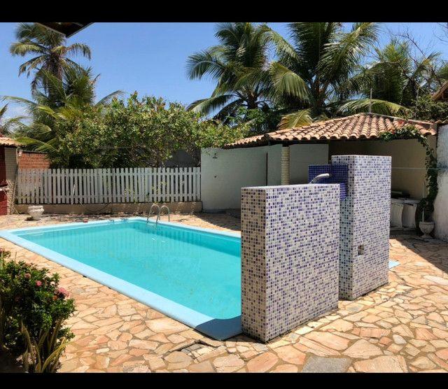 Casa Barra de S Miguel 4 quartos piscina 50Ms do mar Barramar e internet - Foto 12