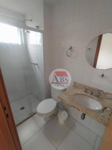 Apartamento com 2 dormitórios para alugar, 80 m² por R$ 3.500,00/mês - Gonzaga - Santos/SP - Foto 7