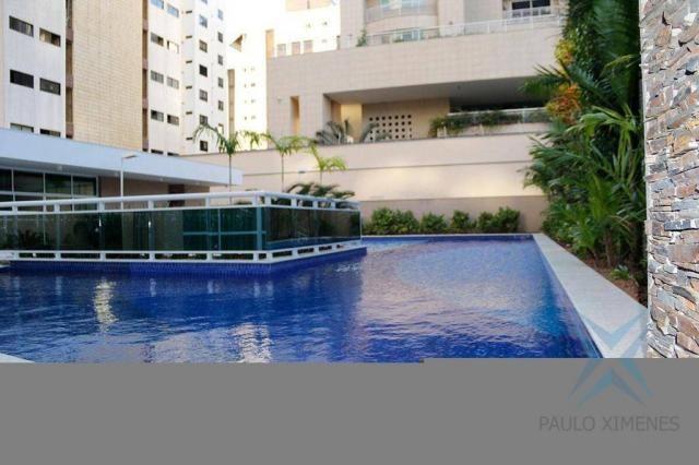 Apartamento com 4 dormitórios à venda, 245 m² - Meireles - Fortaleza/CE - Foto 2