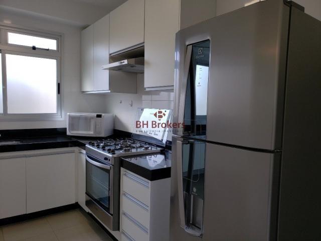 Apartamento para alugar com 3 dormitórios em Vale do sereno, Nova lima cod:BHB20857 - Foto 4