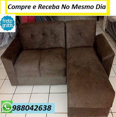 (Entregamos No Mesmo Dia)Sofa Chaise Novo(Embalado) Com Otimo Preço 549,00