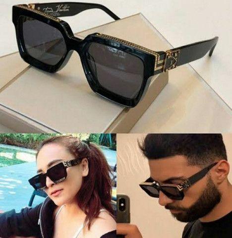 Óculos masculino óculos feminino Louis Vuitton - Foto 6