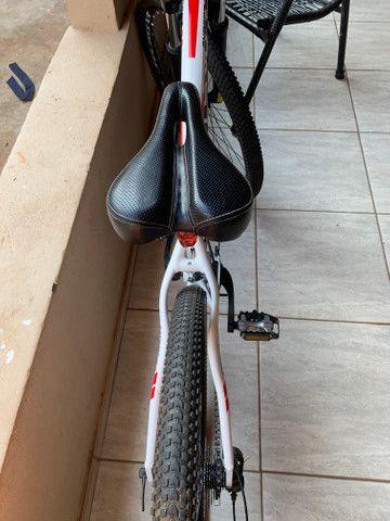 Vendo bicicleta semi nova!!!!!!! - Foto 6