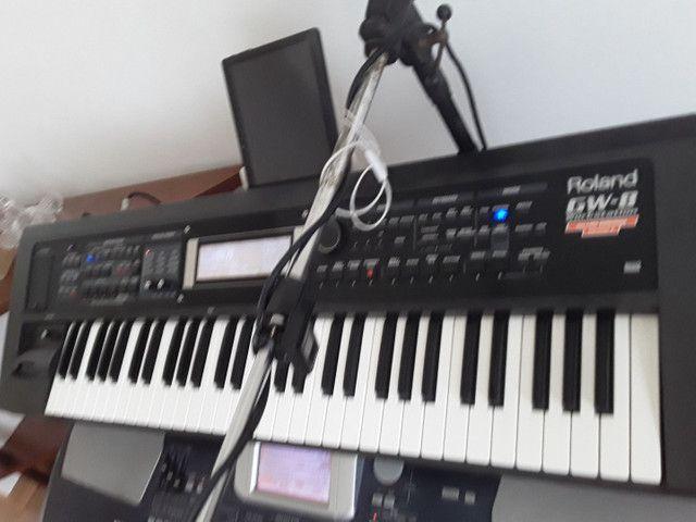 Teclado Roland gw8 versão  2  , oportunidade.. - Foto 3