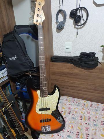 Fender Jazz Bass Mexicano 2004 - Foto 4