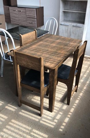 Conjunto Mesa 4 Cadeiras Sonetto - Foto 2
