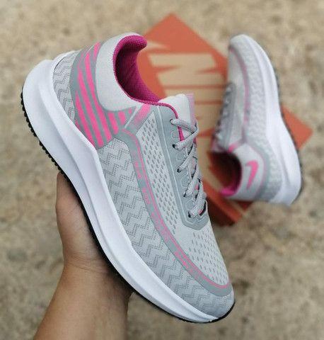 Nike Run Primeira Linha na Caixinha Atacado - Foto 2