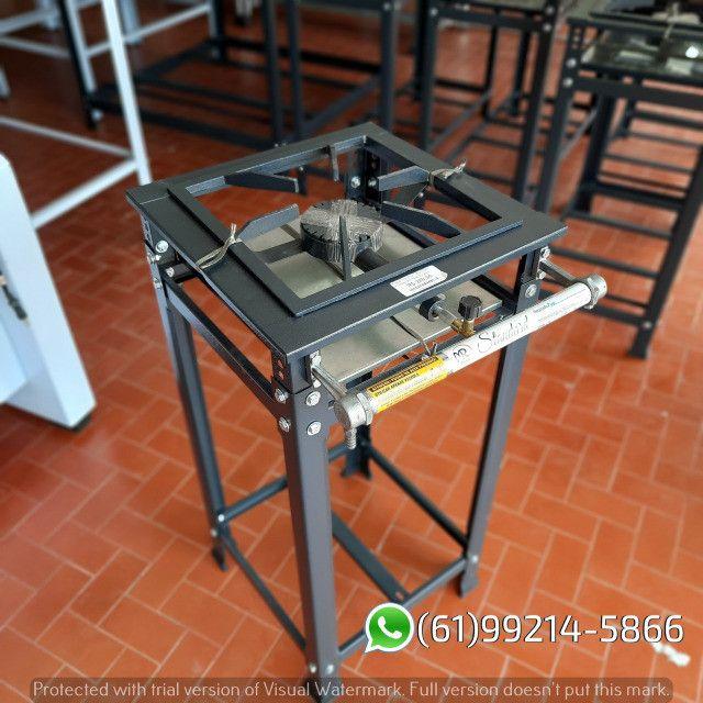 Fogão 1 Boca AP Standard Alta Pressão 30x30 Perfil 5 Industrial MR Fogões - Foto 4