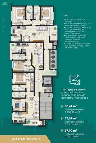 Apartamento com 1 dormitório à venda por R$ 345.000,00 - Edifício New York Tower - Foz do  - Foto 5