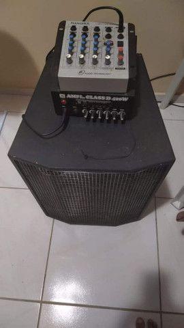 Som+mesa+amplificador. Leia o anúncio! - Foto 3