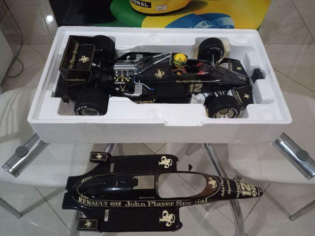 Miniatura Lotus Renault 97T Minichamps 1/12 - Foto 5