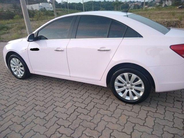Cruze LTZ automático 2014 Único dono, raríssimo modelo na cor Rosa. - Foto 10