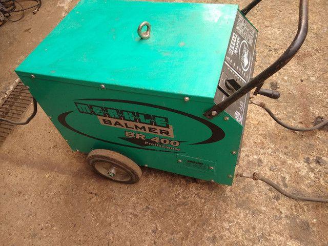 Máquina de solda Balmer BR400 - Foto 4