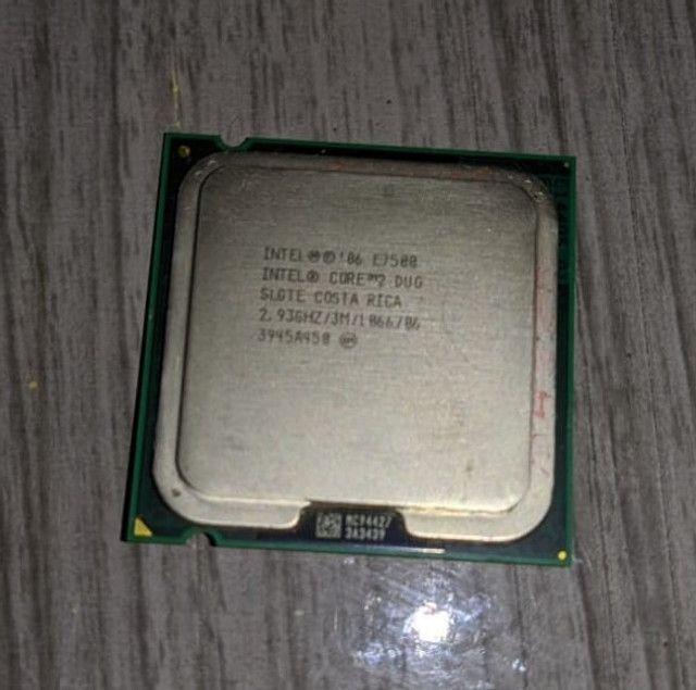 Processador Intel Core 2 Duo Slgte E7500 2,93ghz 3m Lga775