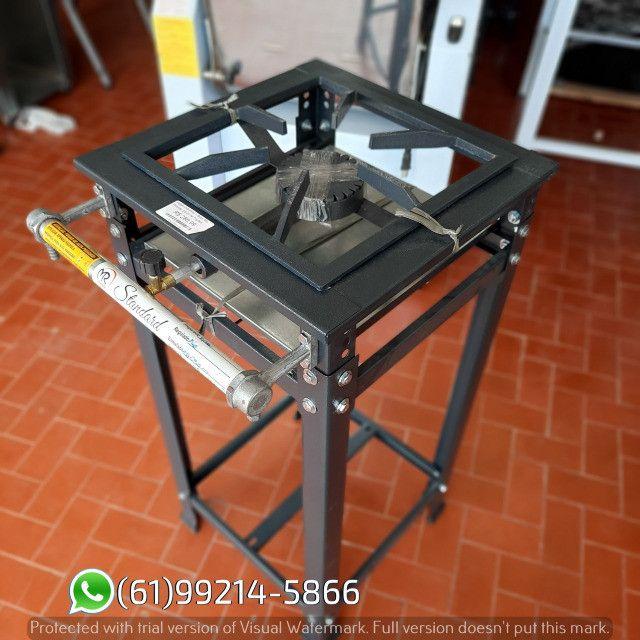 Fogão 1 Boca AP Standard Alta Pressão 30x30 Perfil 5 Industrial MR Fogões - Foto 5