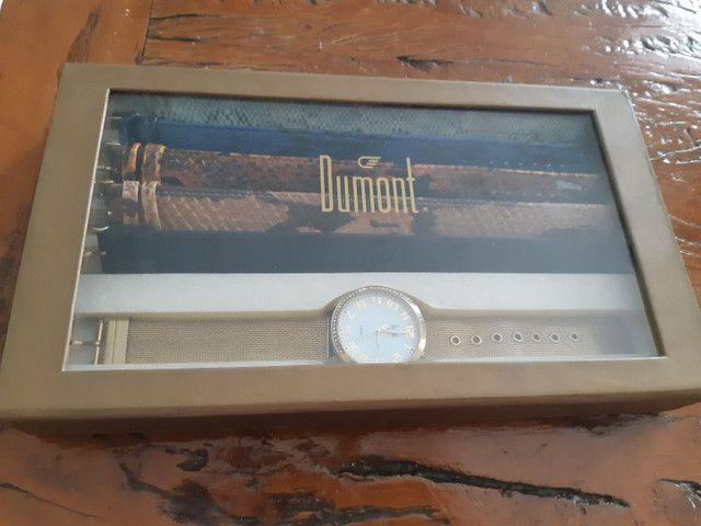 Relógio Dumont, troca pulseira, usado. - Foto 3