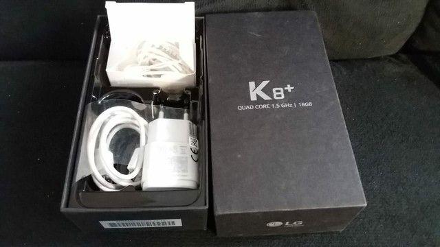 K8+ novinho na caixa com TDS acessórios - Foto 3