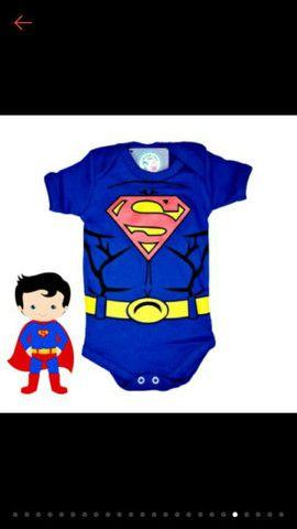 Promoção Body Temático Bebê Infantil / Fantasia Mesversário  - Foto 4