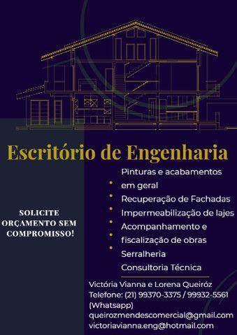 Serviços de Engenharia - Impermeabilização, fachadas e reformas