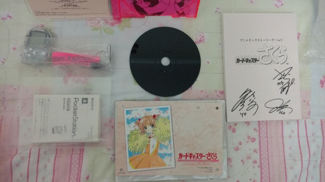 Psone Sakura Card Captors Clow Magic + Pocketstation - Foto 4