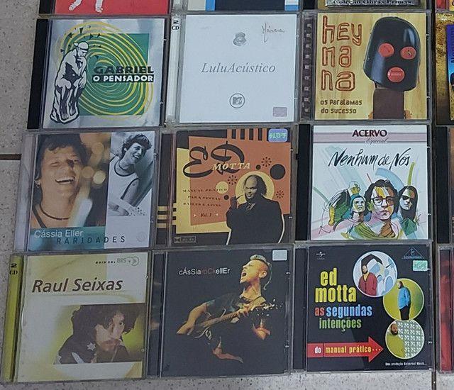 CD'S/II LOTE C,/39 CD'S/ROCK NACIONAIS  - Foto 2