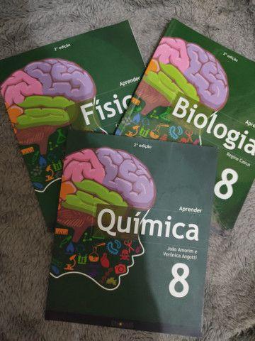 Livro Química física e biologia 8 ano
