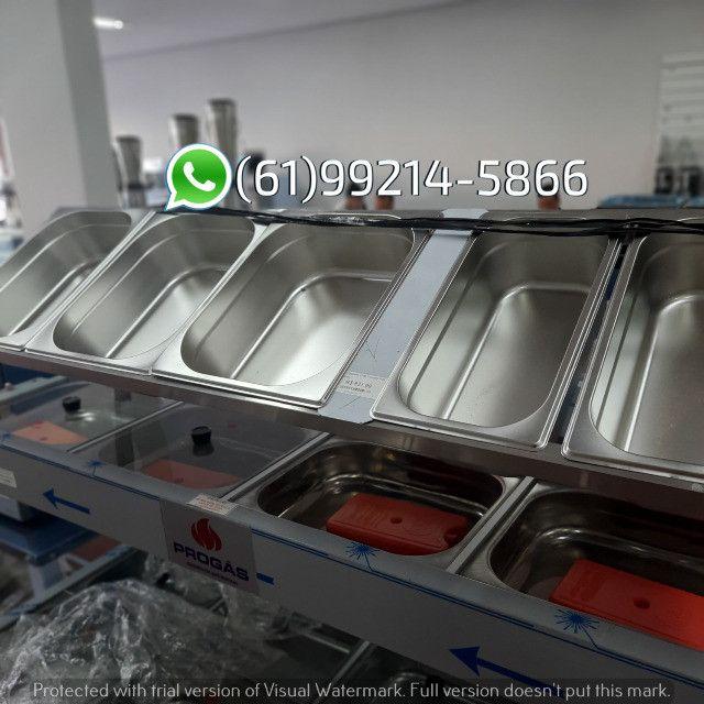 Condimentadora 5 cubas Inox Kit Pizzaiolo Italinox - Foto 4