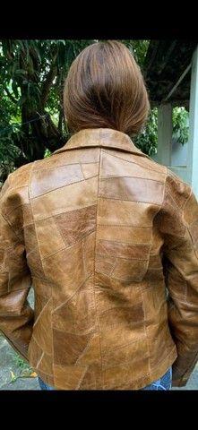 Jaquetas em couro legítimo fem - Foto 4