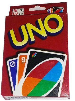 Jogo De Cartas Uno Versão Verão 108 Cartas