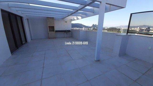Cobertura no Ilha Pura, 3 quartos, 281m, piscina, sauna, churrasqueira, vista lagoa/mar - Foto 15