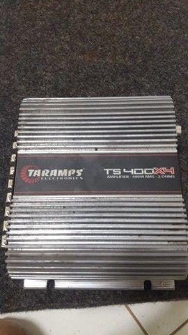 Cara preta Pionner 1400W Taramps 400 - Foto 3