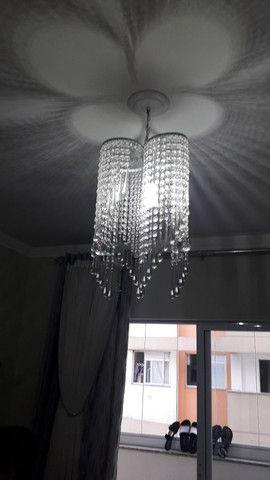 Lindo lustre de cristal