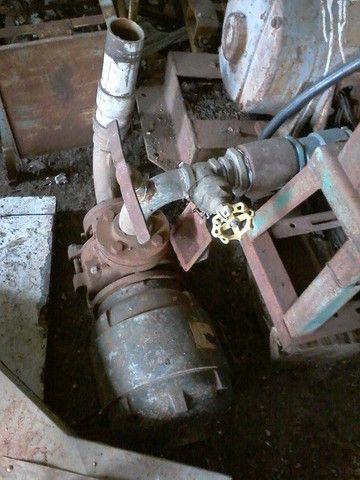 Conjunto de irrigação motor elétrico