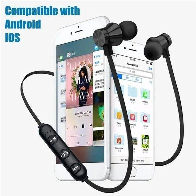 Vendo fones de ouvido Bluetooth NOVOS - Foto 3