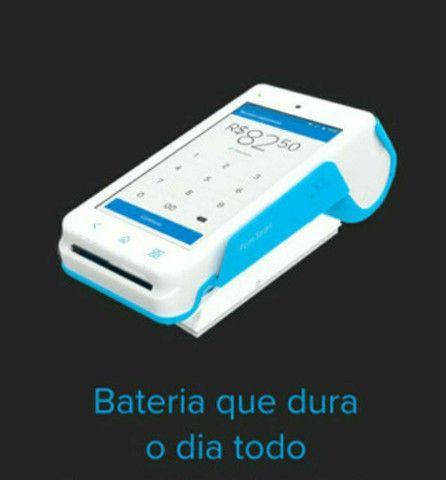 Point Smart - Maquina de cartão - Mercado Pago - NOVA - Foto 3