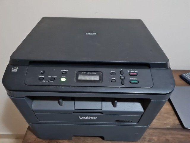 Impressora Multifuncional Brother Dcp-l2520dw - usada - Foto 2