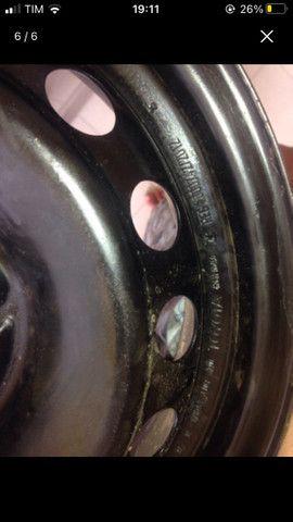 Roda 14 de ferro Toyota Etios Nova - Foto 5