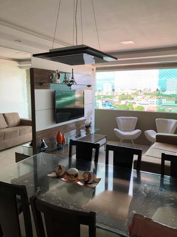 Apartamento todo mobiliado no Condomínio Soberano V Nascente (sombra) 2 Vagas Lazer Comp