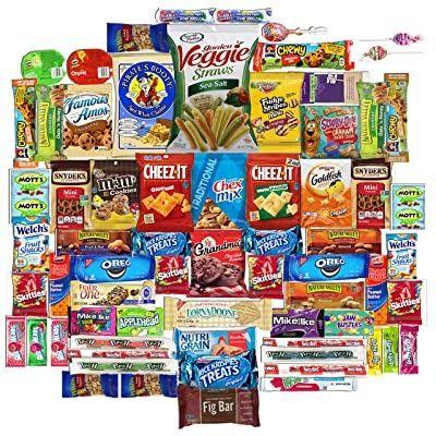 (R$ 120,00) Caixa surpresa de doces e snacks americanos (EUA) variados - Foto 3